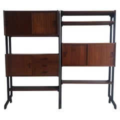 Modular Wall Unit by Simpla-Lux, 1960s