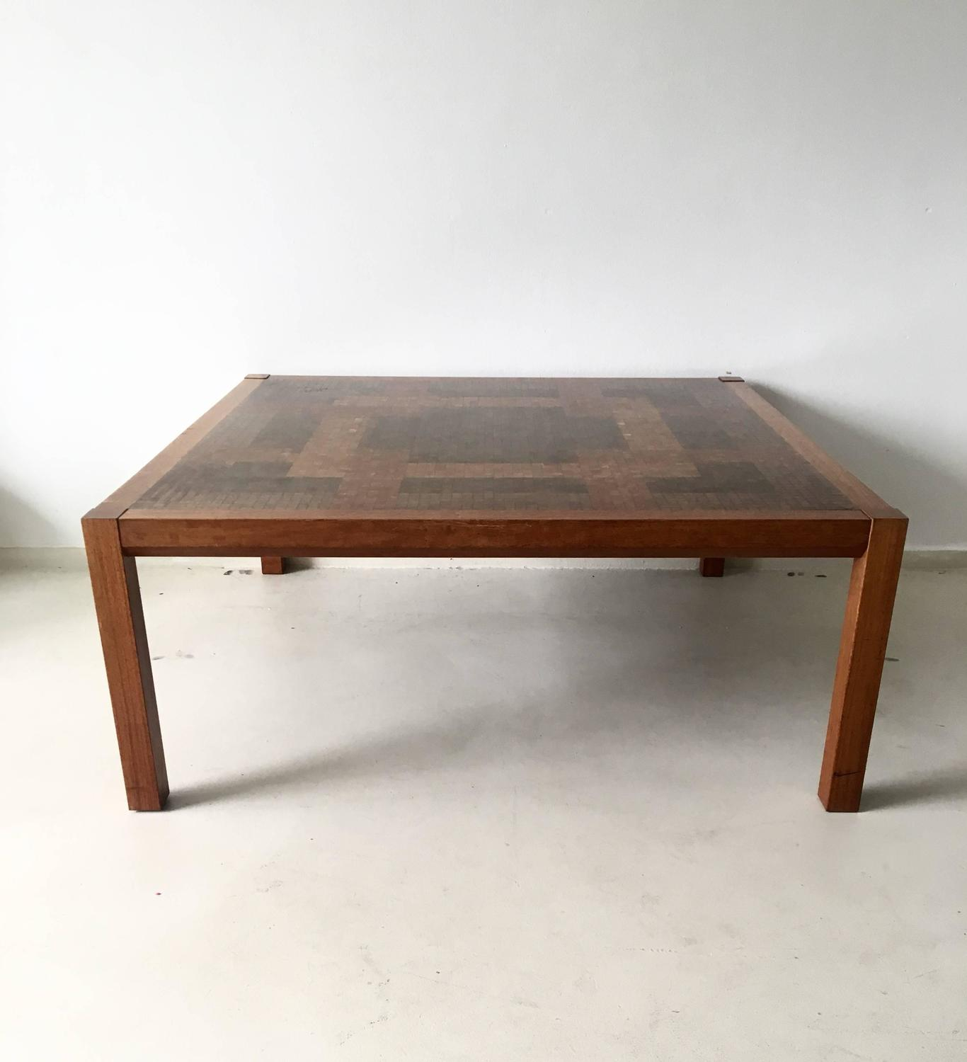 Danish Design Coffee Table By Tranekaer 1970s For Sale At 1stdibs