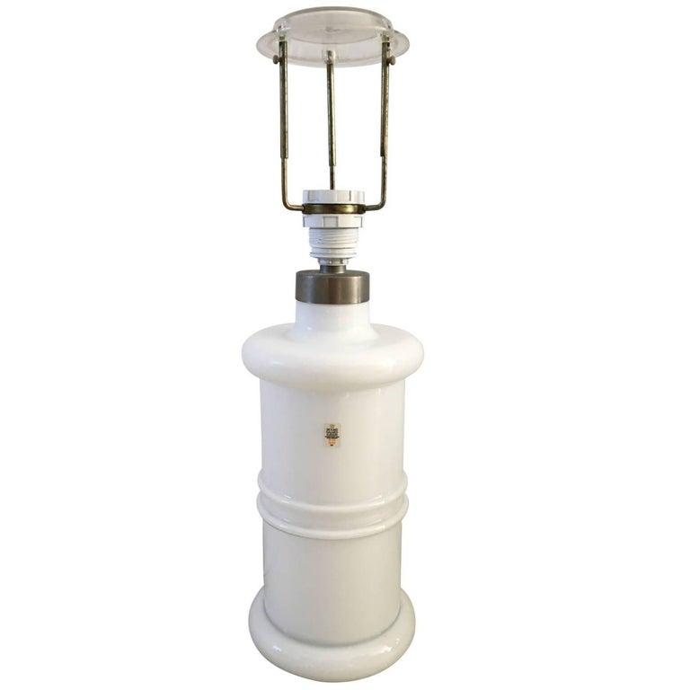 Large Adjustable Table Lamp by Sidse Werner for Holmegaard, 1981 For Sale