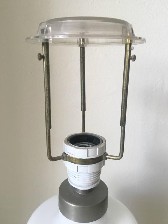 Scandinavian Modern Large Adjustable Table Lamp by Sidse Werner for Holmegaard, 1981 For Sale