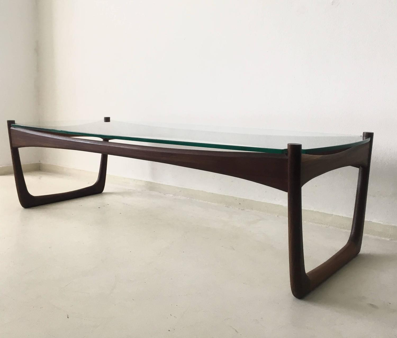 Orla Retro Coffee Table: Superb Danish Rosewood Coffee Table I.S.O. Orla Molgaard