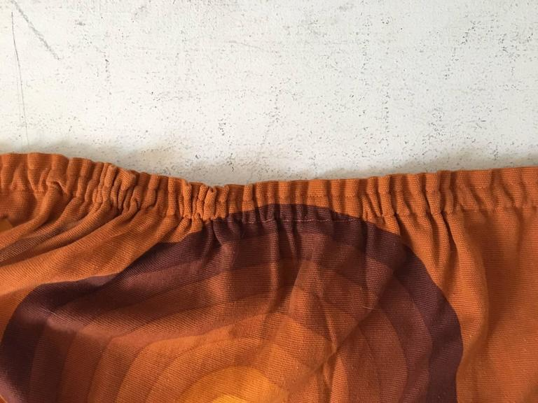 20th Century Verner Panton Curtains or Textile for Mira, Large Amount, 1960s For Sale