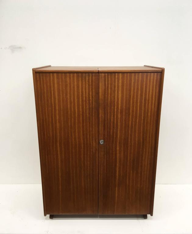 Maple And Teak Magic Box Foldable Desk 1960s For Sale