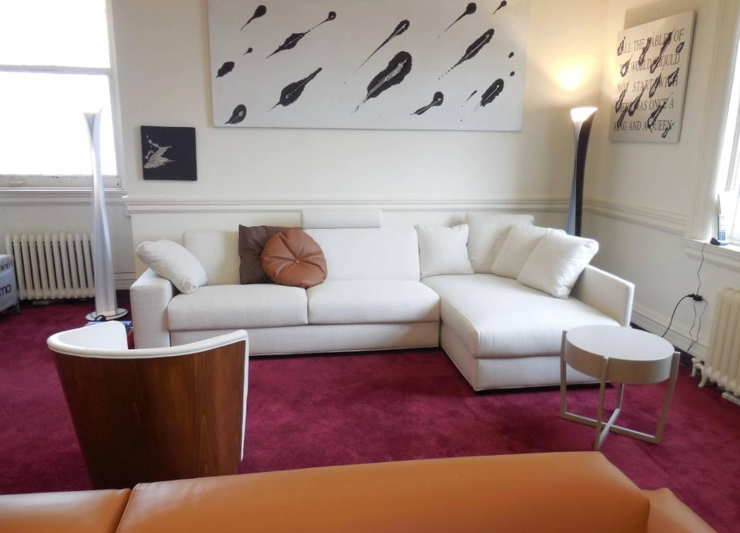 Modern Italian Sofa Bed Sectional SB41, Fabric, New, Made In Italy For Sale  At 1stdibs