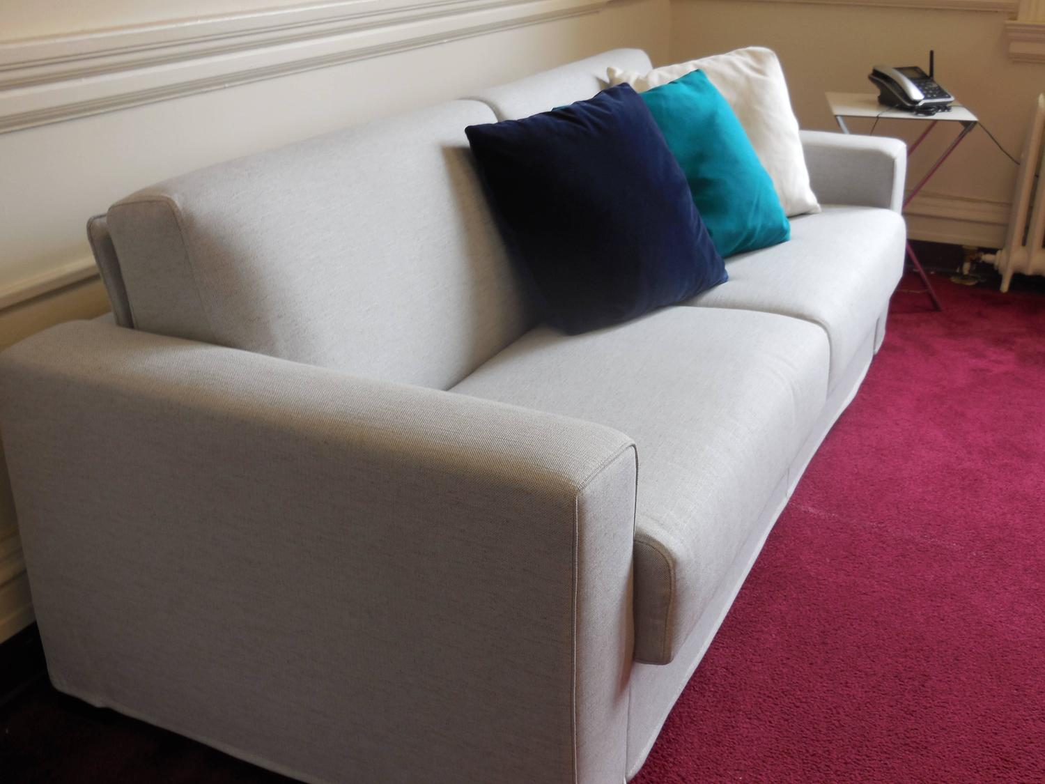 Modern Italian Sofa Bed SB52, Made In Italy, Leather Or Fabric, New For  Sale At 1stdibs
