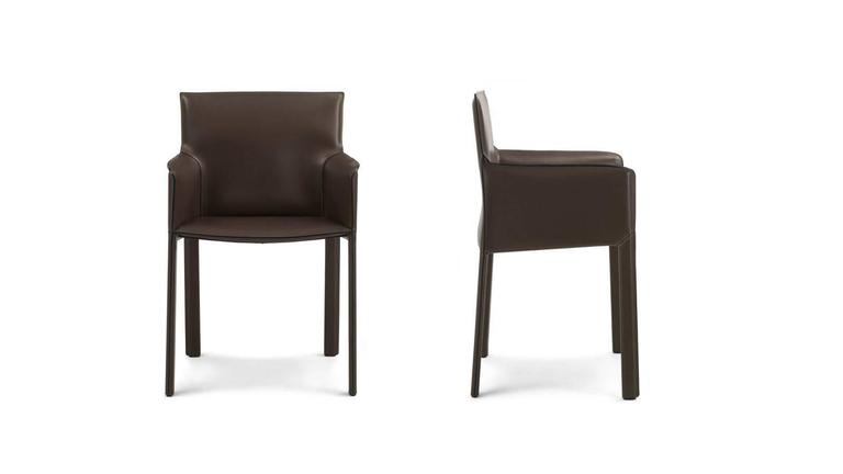 Italian modern dining chairs also suitable for office studios with or without armrests  sc 1 st  1stDibs & Modern Italian Dining Chair Italian Furniture Design Made in Italy ...