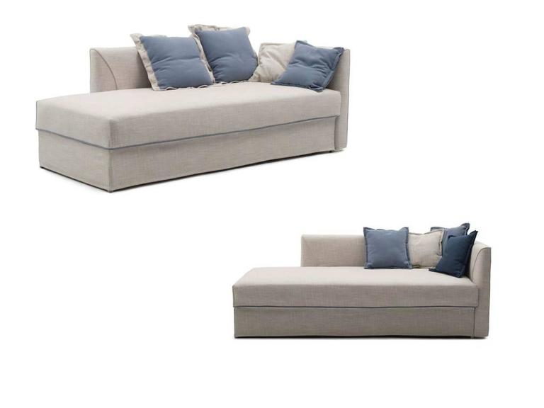 Modern Italian Sofa Bed with Trundle Bed or Storage Drawers