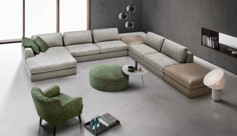 Modular Italian Designer Sofa From Our Latest Collection, With Multiple  Elements And Possibilities. Modern