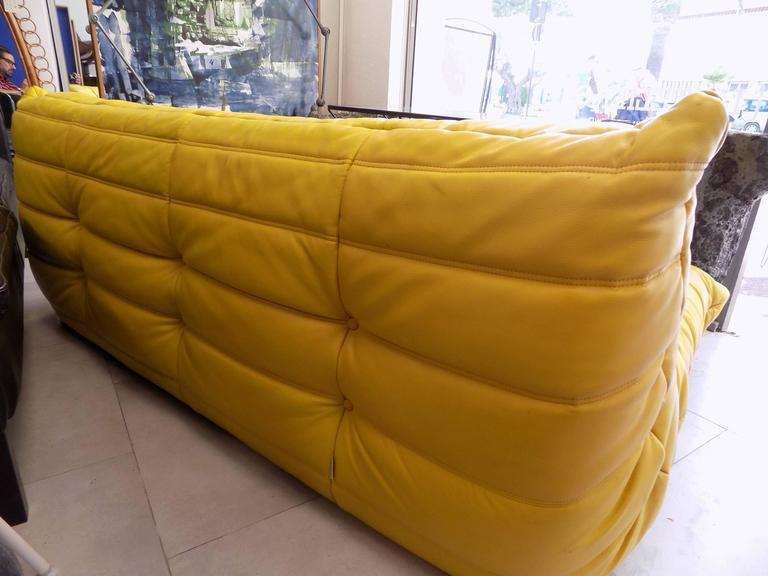 Original 1970s michel ducaroy togo sofa for ligne roset - Ligne roset sofa togo ...