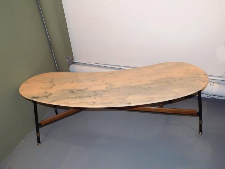 Italian bean design coffee table circa 1960 at 1stdibs - Coffee table italian design ...