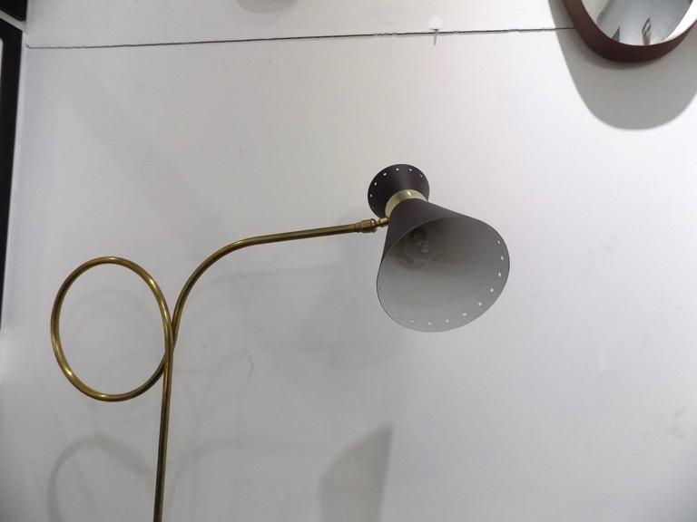 1960s Maison Lunel Floor Lamp 3