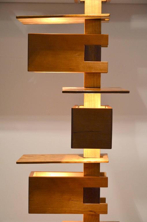 Frank Lloyd Wright Flooring : Fantastic taliesin frank lloyd wright wood floor lamp at