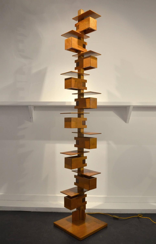 Frank Lloyd Wright Taliesin >> Fantastic Taliesin Frank Lloyd Wright Wood Floor Lamp at ...