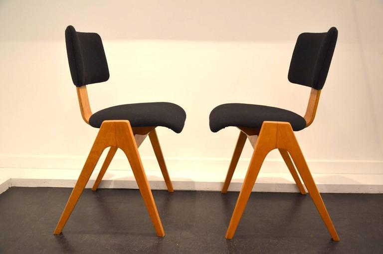 beautiful robin day chairs circa 1960 for sale at 1stdibs