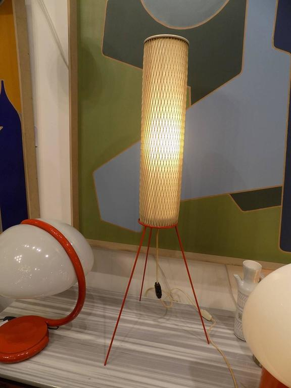 Awesome Italian Tripod Table Lamp Circa 1970 For Sale At
