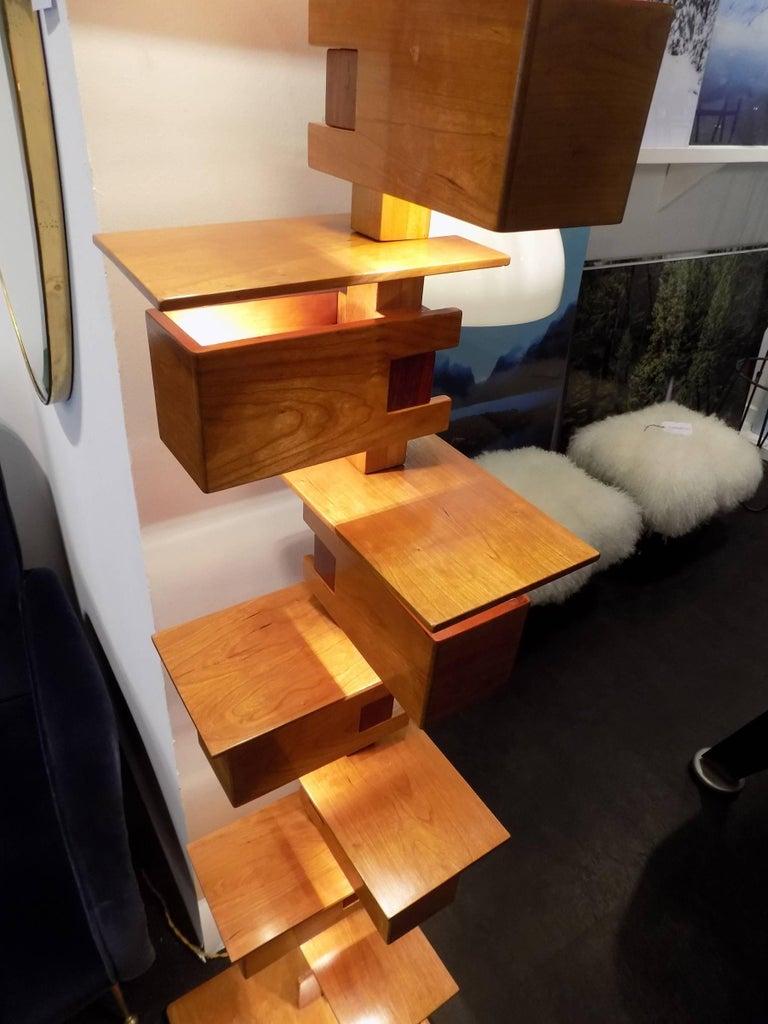 Frank Lloyd Wright Flooring : Fantastic frank lloyd wright taliesin floor lamp for sale