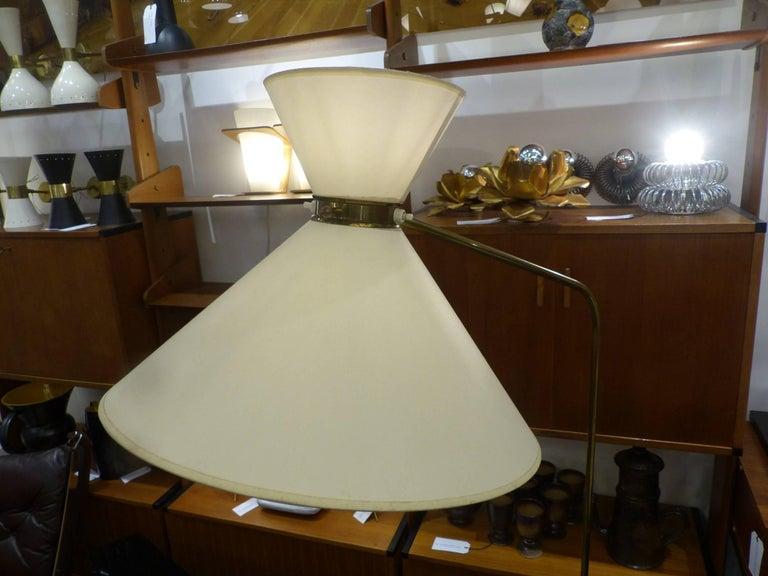 Huge 1960 French Floor Lamp in the Taste of Pierre Guariche 4
