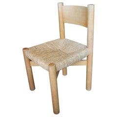 Fantastic Set of 12 Charlotte Perriand Meribel Chair, circa 1960