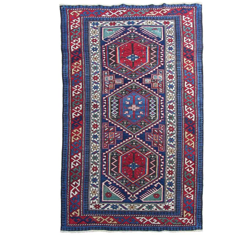 Vintage Mexican Zapotec Pictorial Rug At 1stdibs: Antique Shirvan Rug For Sale At 1stdibs