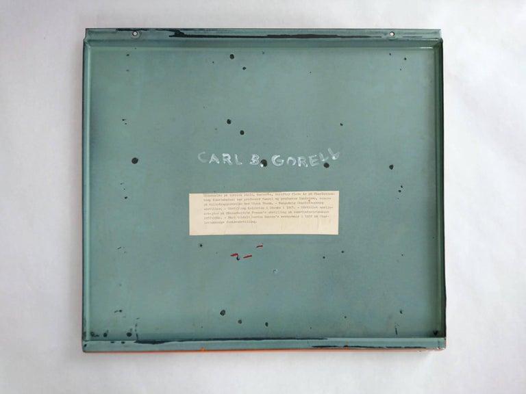 Mid Century Enamel by Carl B. Gorell, Denmark, 1957 For Sale 1