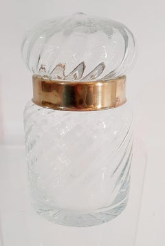 Glass Jar in the manner of Tommasi Barbi