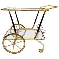 Midcentury Trolley by Cesare Lacca, Italy