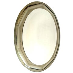 Oval Mirror by Lupi Cristal-Luxor, Italy