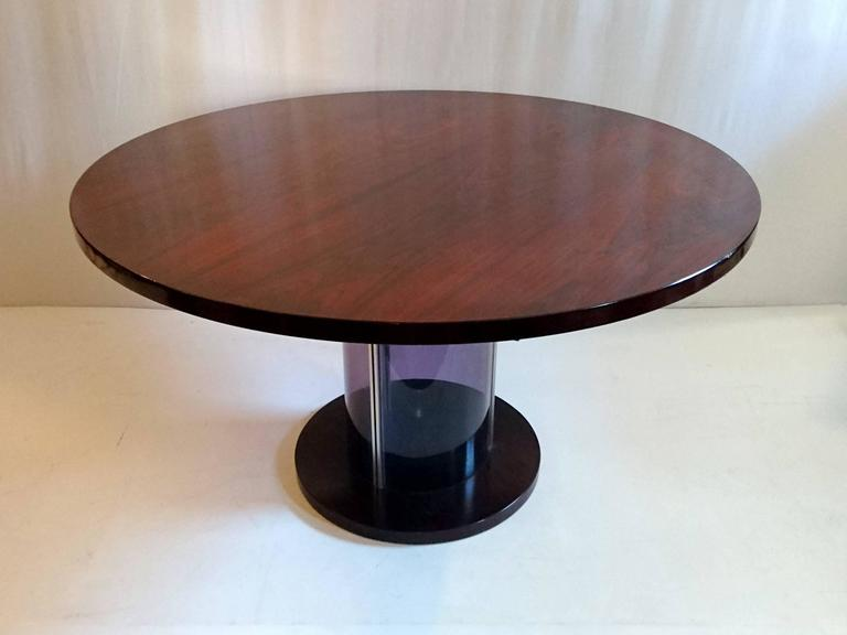 Dining Table In The Manner Of Claudio Salocchi Italy For