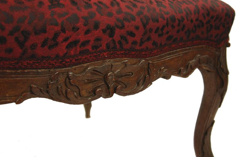 18th Century and Earlier Comfortable Armchair France, 18th Century, Oak For Sale