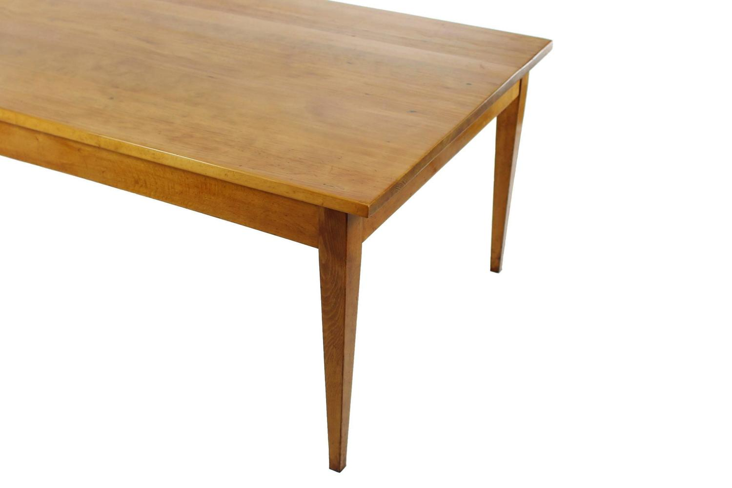and beechwood dining table late biedermeier circa 1850 10 12 person