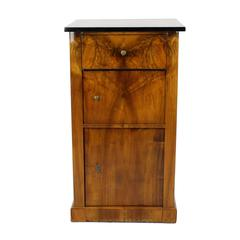 Rare 19th Century Biedermeier Period Pillar Cupboard, circa 1830