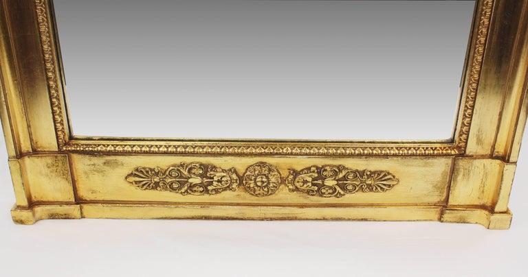 19th Century Pillar Mirror, Empire, Peter Schmuckert, circa 1800-1810 In Good Condition For Sale In Muenster, NRW