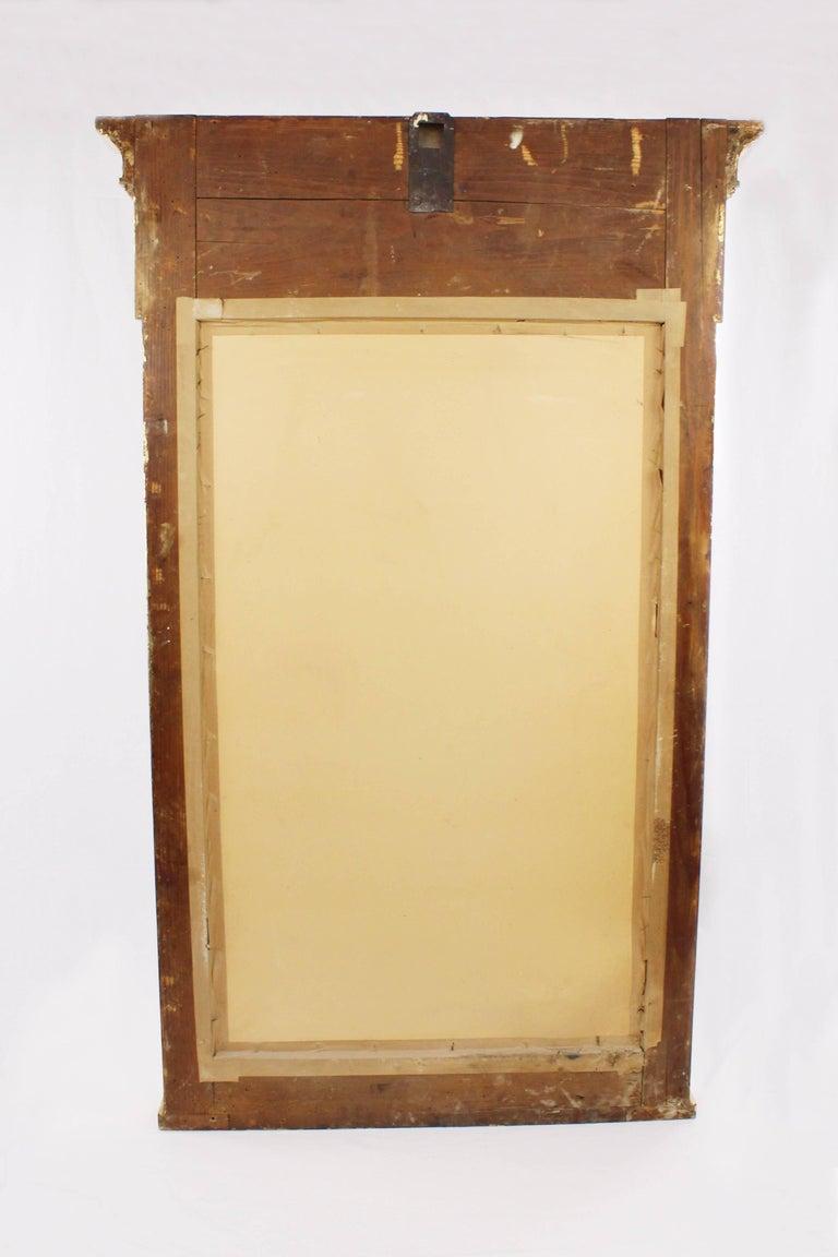 19th Century Pillar Mirror, Empire, Peter Schmuckert, circa 1800-1810 For Sale 1