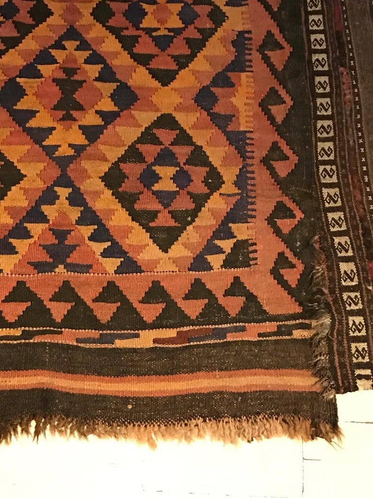 Madeline Weinrib Moroccan Wool Rug Tribal Colors At 1stdibs
