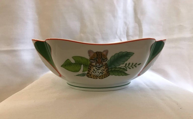 authentic and beautiful lynn chase  u0026quot rainforest u0026quot  bowl at 1stdibs