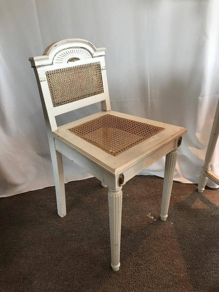 Vanity Desk Top : Maison jansen style vanity or desk glass top and gilt