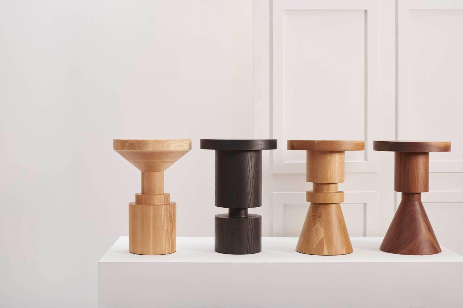 Wooden chess stool d for sale at 1stdibs - Wooden chess tables ...