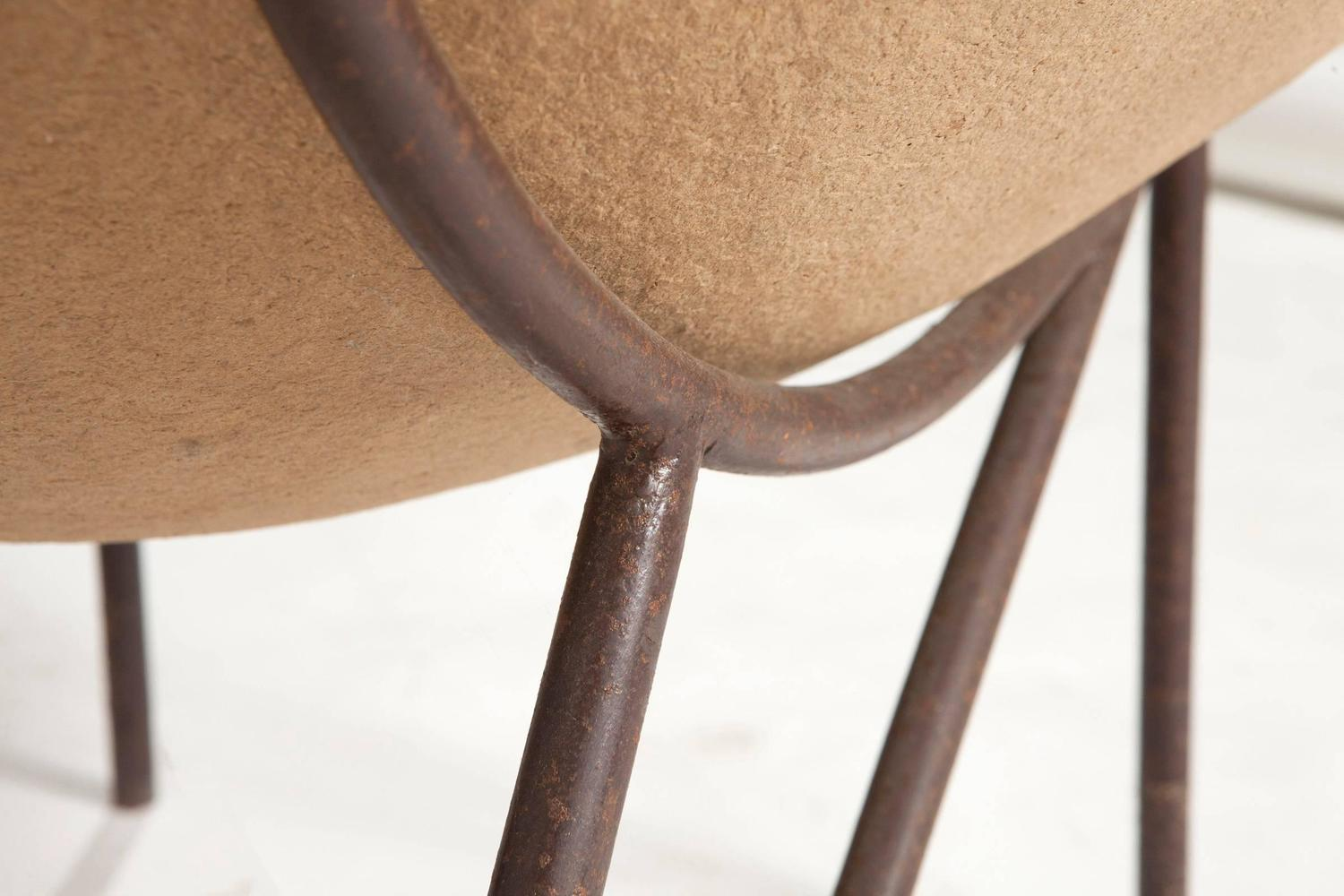 Brazilian semine armchair in recycled cardboard by for 7 furniture doral fl