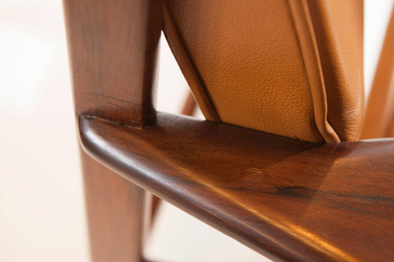 Mid century drummond armchair in jacaranda by sergio for 7 furniture doral fl