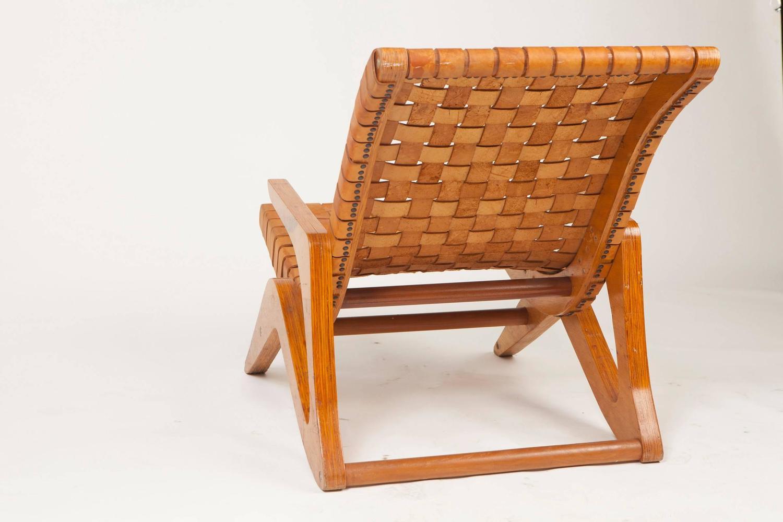 Mid century lounge chair linha z by jose zanine caldas for 7 furniture doral fl