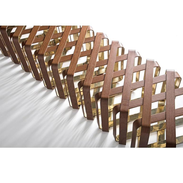 Kansai Bench in Brazilian Ipe and Steel by Ronald Sasson  6