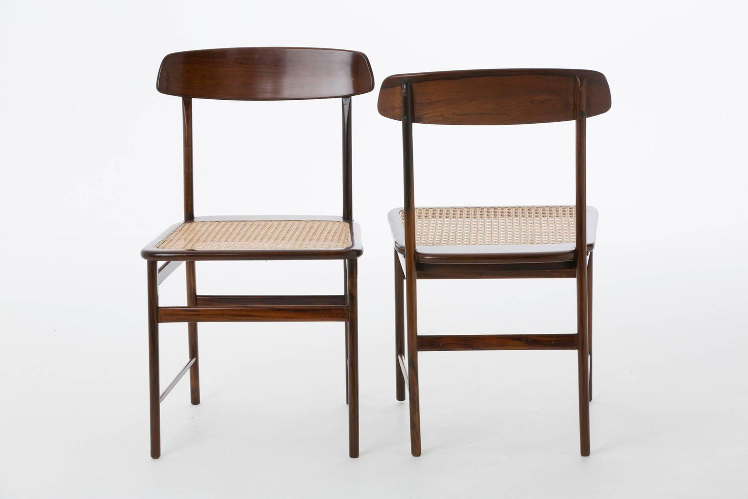 Lucio costa chairs in brazilian jacarand wood by sergio for 7 furniture doral fl