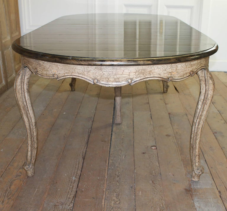 20th century french country style dining table for sale at 1stdibs. Black Bedroom Furniture Sets. Home Design Ideas