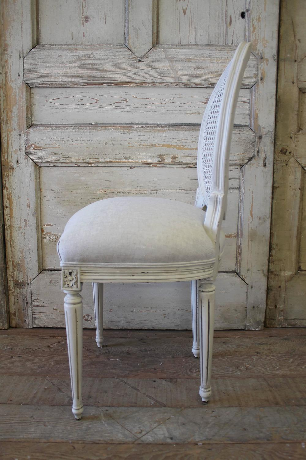 Louis Xvi Style Cane Back Dining Chairs At 1stdibs