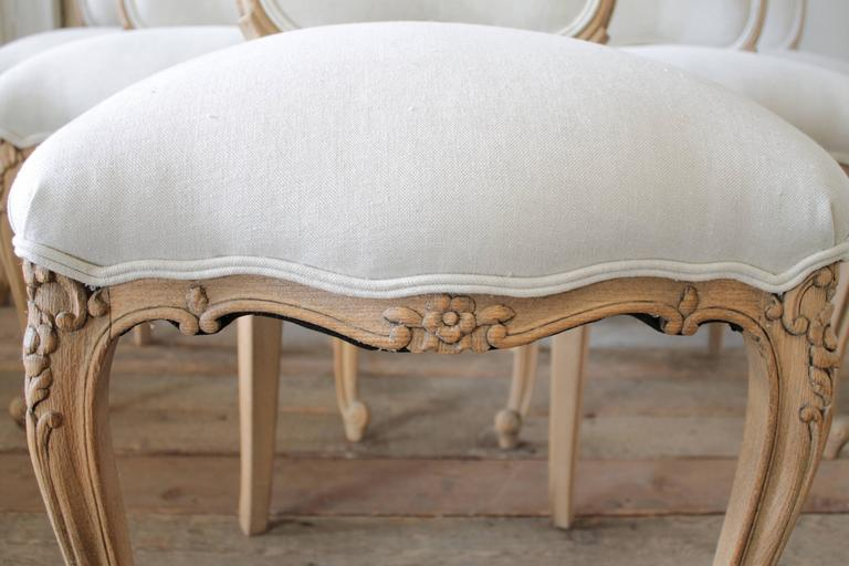 Louis XV Style French Country Dining Chairs In Good Condition In Brea, CA