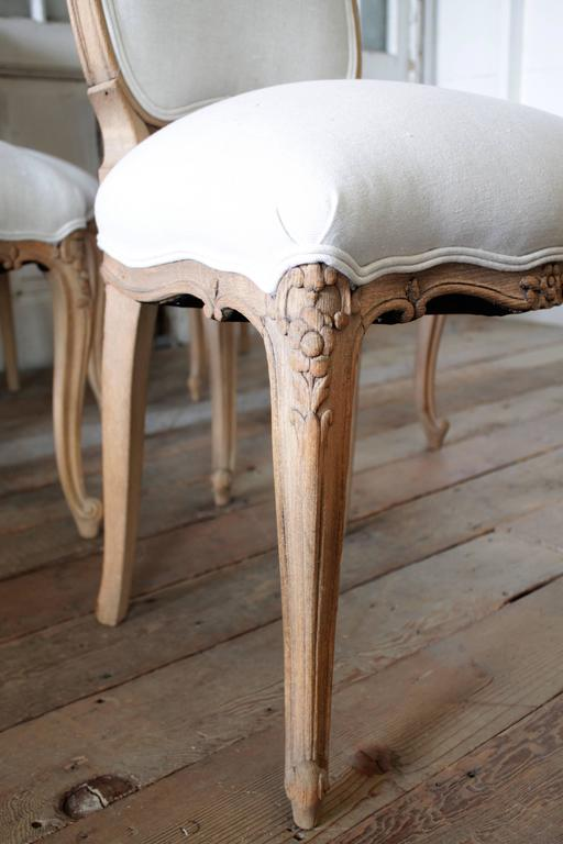 20th Century Louis XV Style French Country Dining Chairs