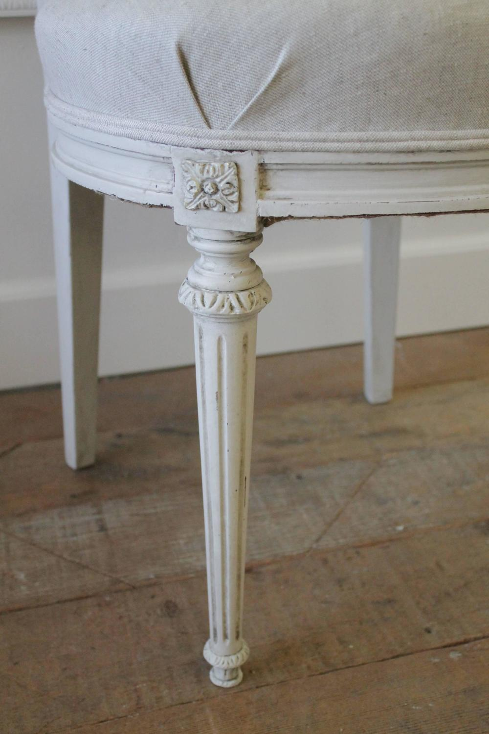 Set Of Four Antique French Cane Dining Chairs For Sale At 1stdibs