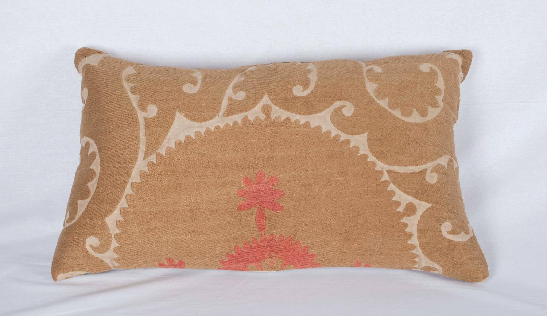 Midcentury Pillow : Mid-20th Century Uzbek Samarkand Suzani Pillow at 1stdibs