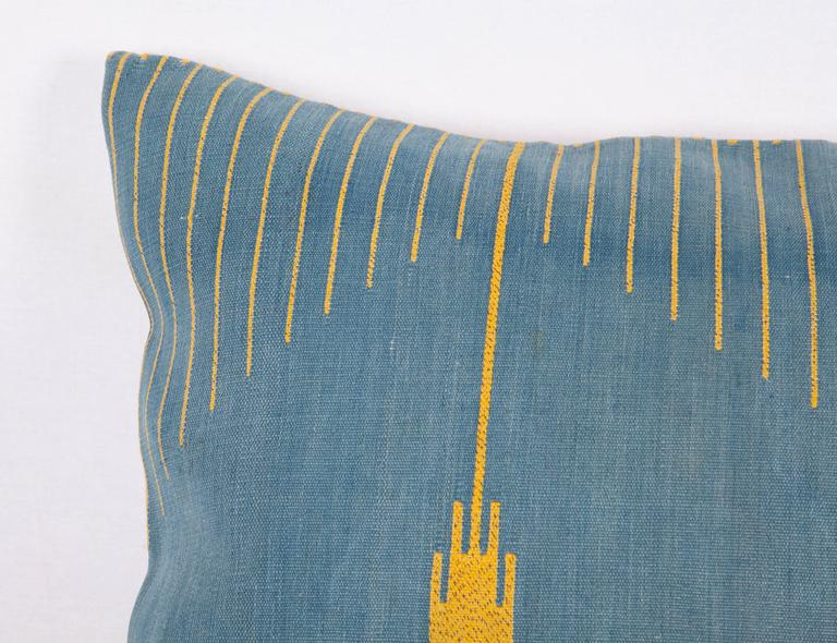 Early 20th Century Antique Middle Eastern Textile Fragment Fashioned Pillow at 1stdibs