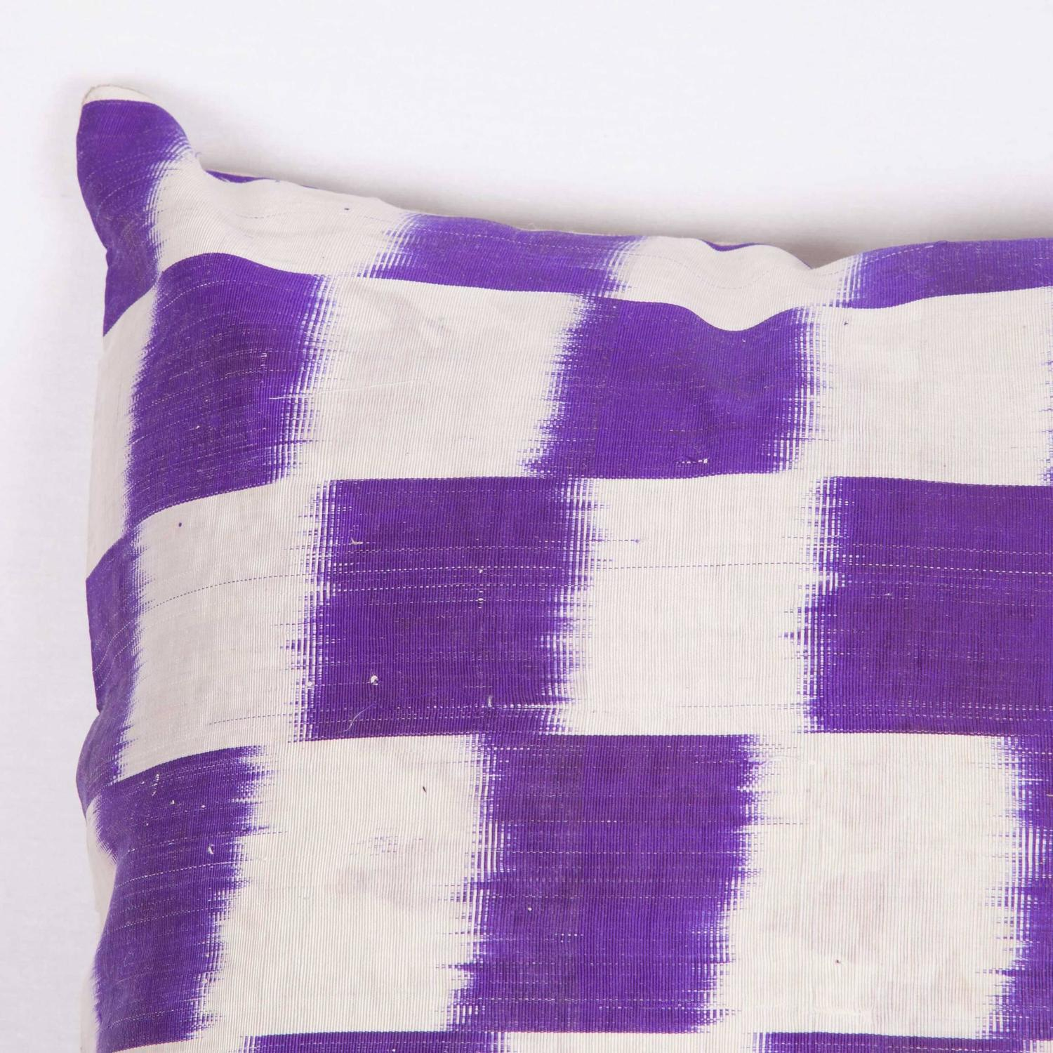 1900s hair styles ikat pillow made out of an 1900s uzbek ikat for at 6869